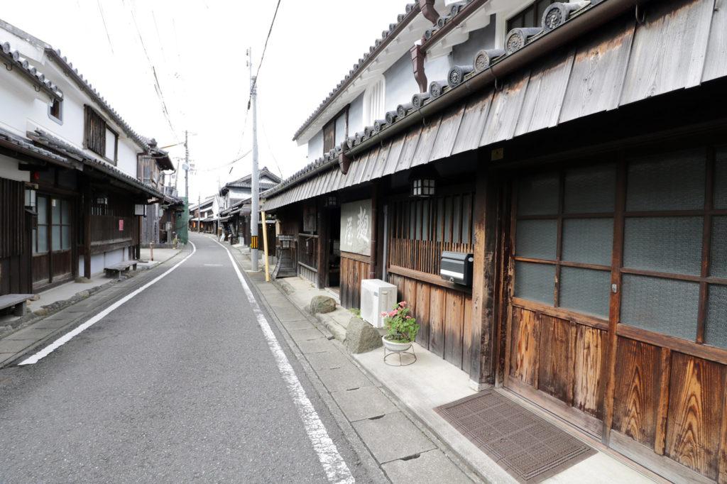 湯浅町伝建地区の景色