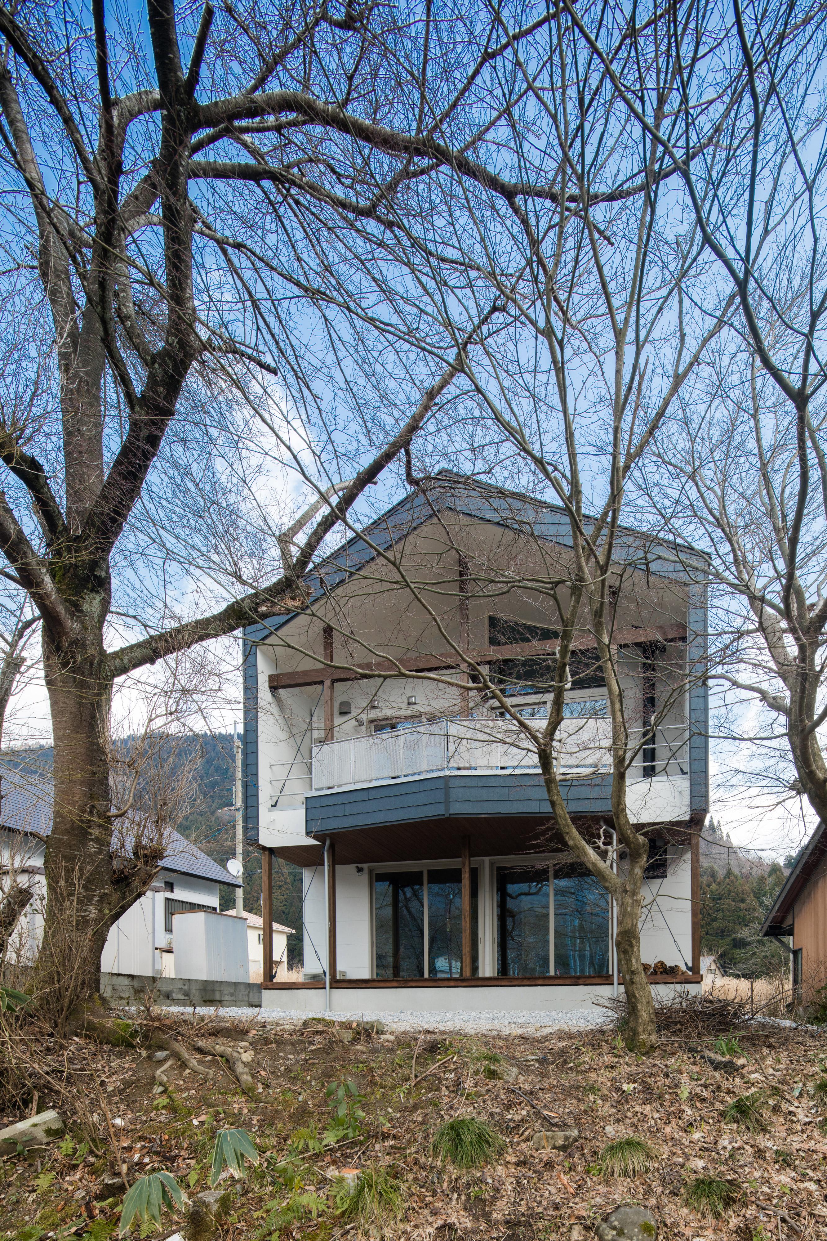 緑畔の家の外観