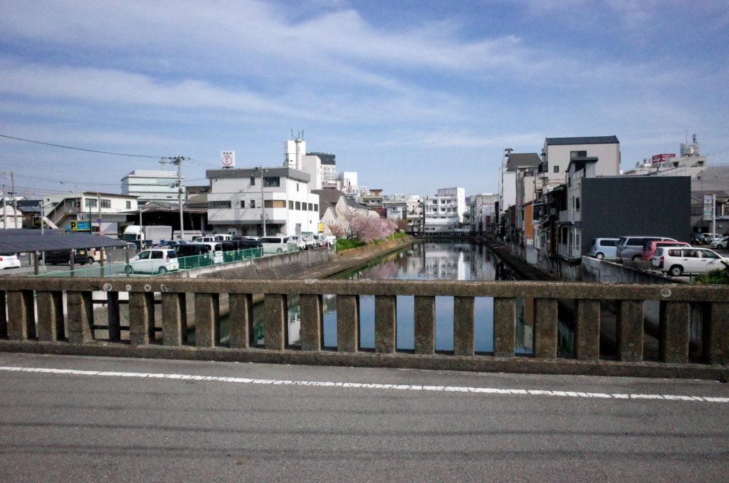 寄合橋から見た紀の川